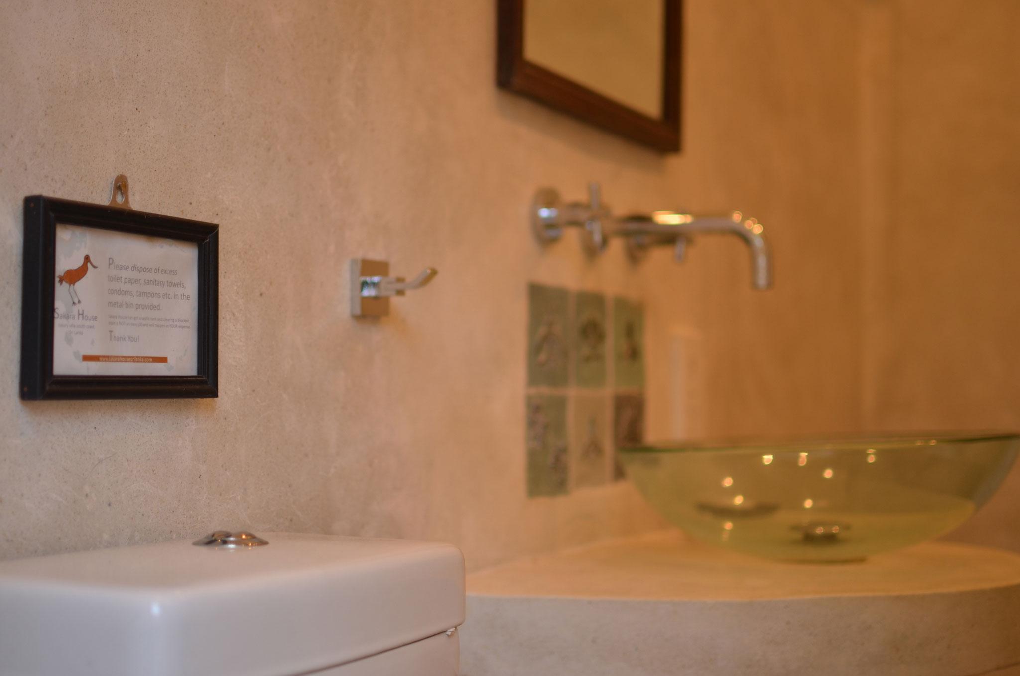 Bathroom of Main House Double Room.