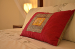 Luxury cotton linen ensures a good night sleep.