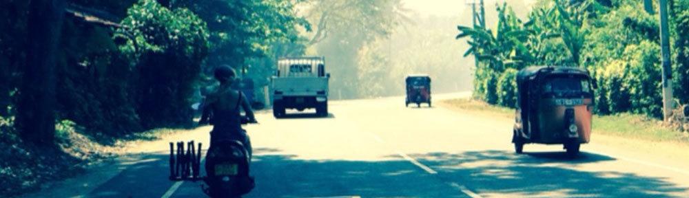 Transport in Sri Lanka...